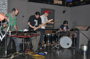 Ohms of Resistancce John-Keyboard, Dan-Bass, Christan-Drums, John-Drums